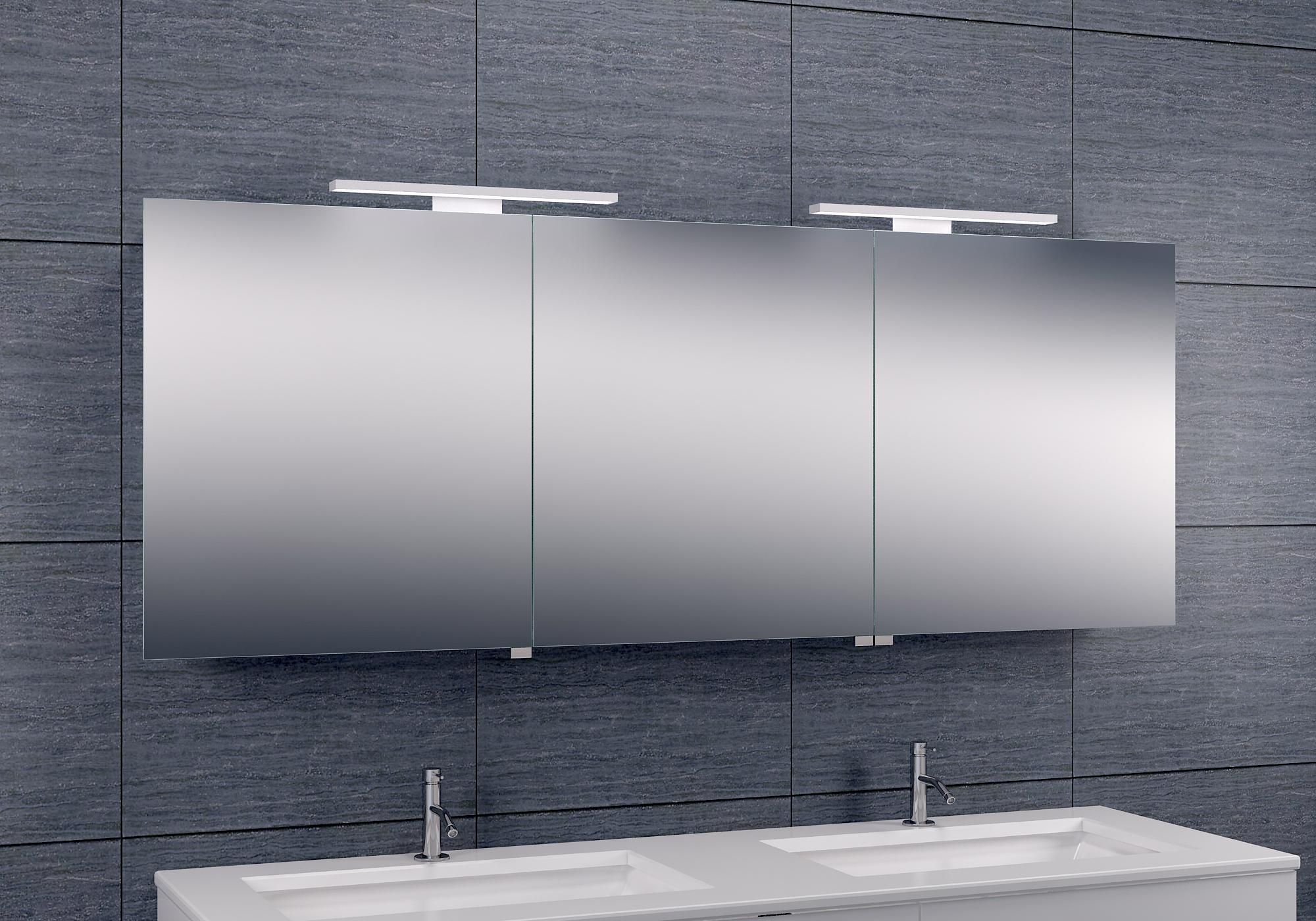 Spiegelkast Larissa LED 1600x600