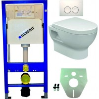 Geberit UP100 hangtoilet pack 2 1