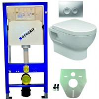 Geberit UP100 hangtoilet pack 3 1