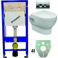 Geberit UP100 hangtoilet pack 4 1