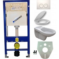 Geberit UP100 hangtoilet pack 5 1