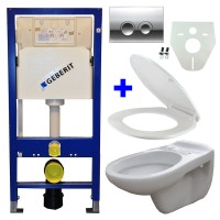 Geberit UP100 hangtoilet pack 9