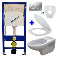 Geberit UP100 hangtoilet pack 10 1
