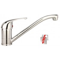 Sanifun Schütte FALCON sink mixer, low pressure, chrome