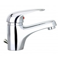 Sanifun Schütte MAGNA basin mixer, chrome