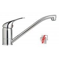 Sanifun Schütte ULTRA sink mixer, low pressure, chrome