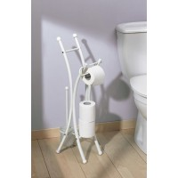 Sanifun Allibert toiletrolhouder Corfou Wit 1
