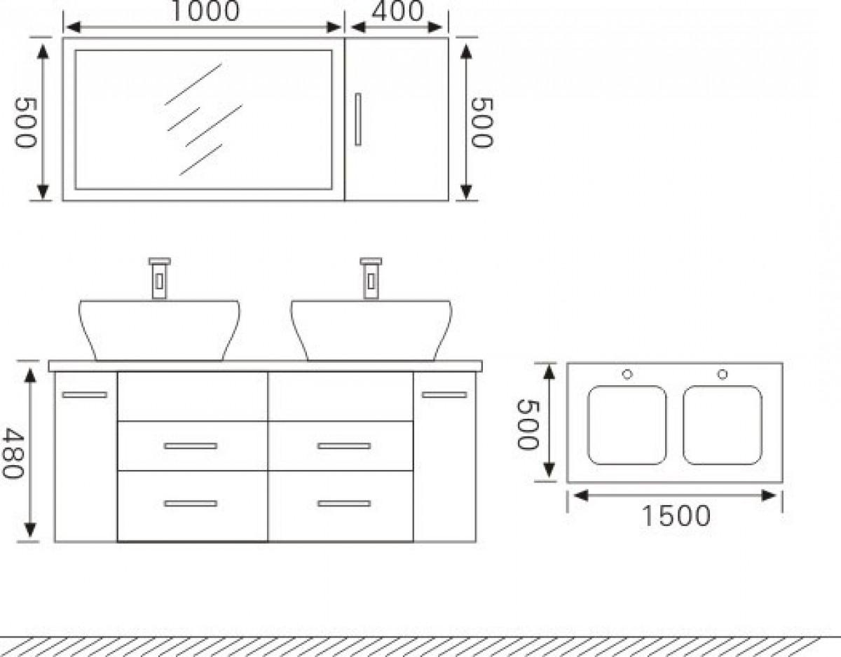 Emejing Afmetingen Wasbak Badkamer Pictures - House Design Ideas ...