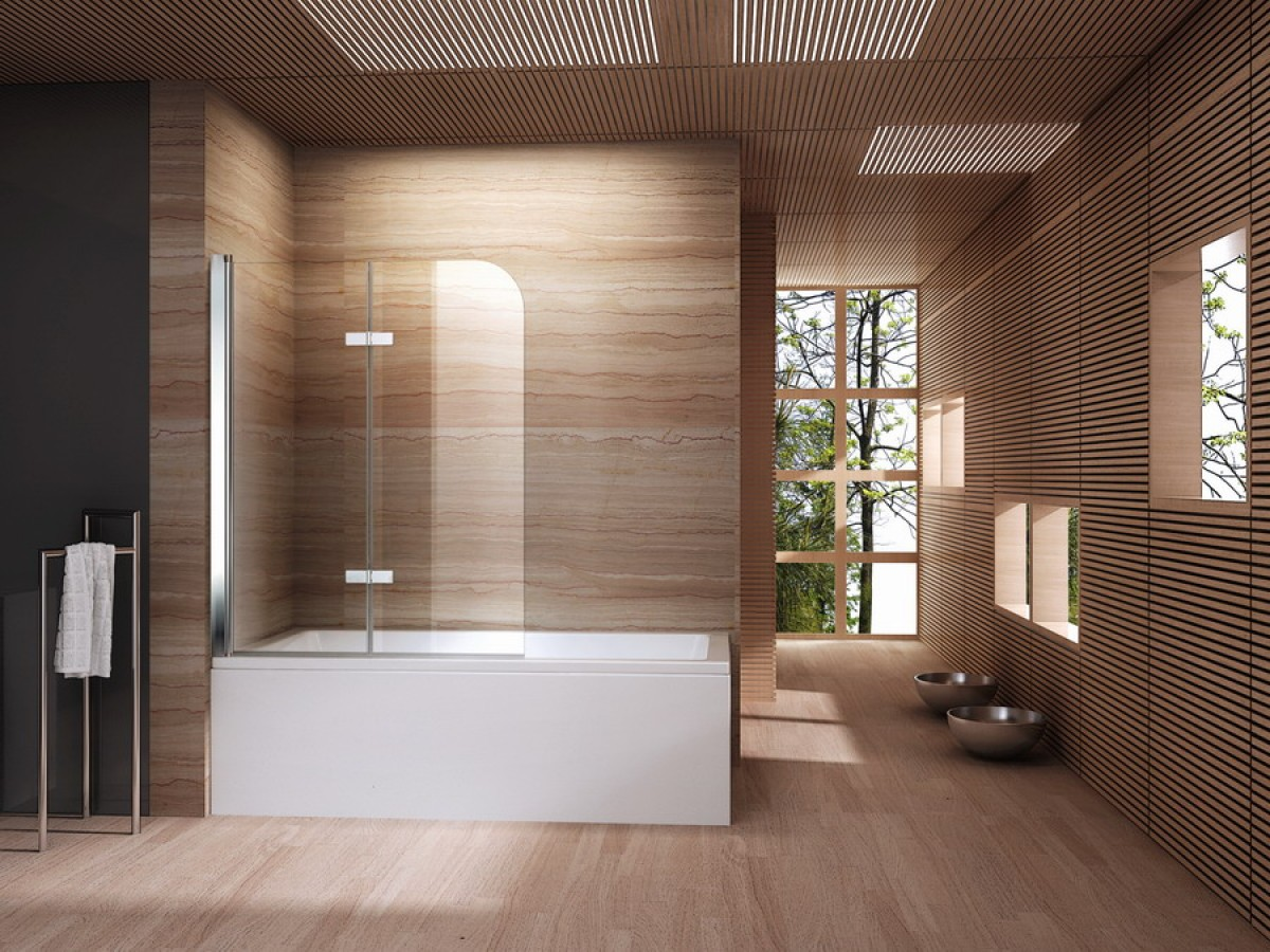 Kleine Badkamer Oplossing : Een badwand als oplossing voor een kleine badkamer sanifun