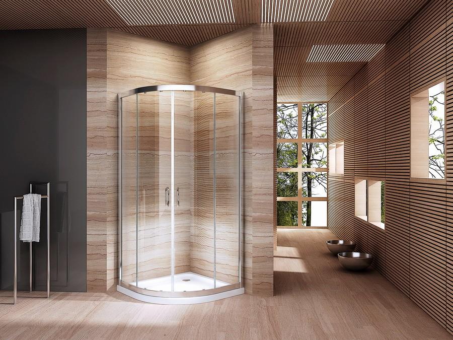 Kleine badkamer groot plezier - Douche kleine ruimte ...