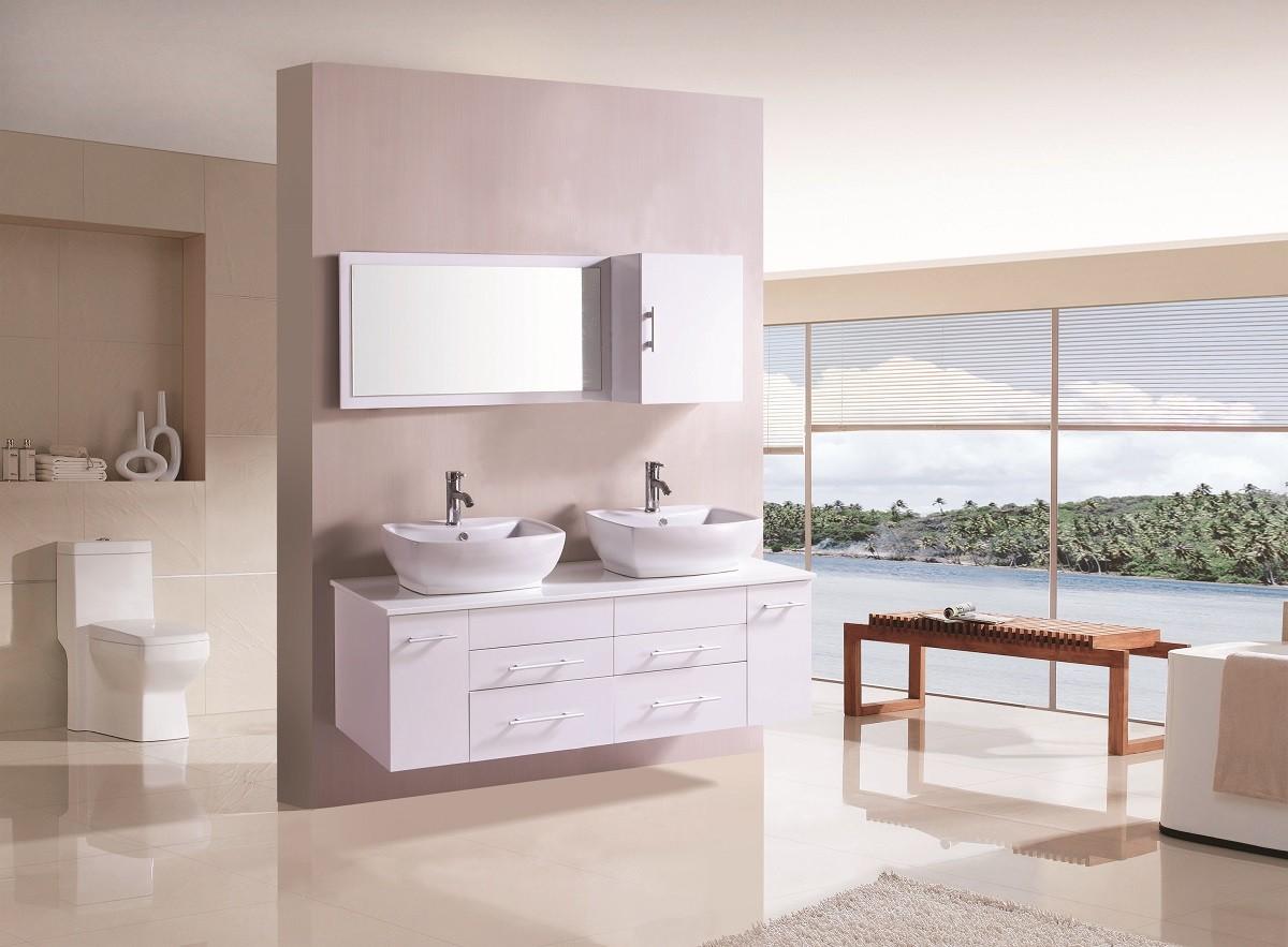 Een witte badkamer blog online sanitair bvba - Witte badkamer ...