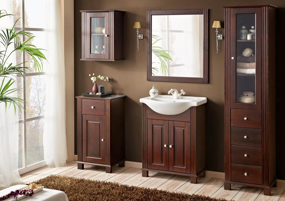 Retro badkamermeubels voor een klassieke badkamer