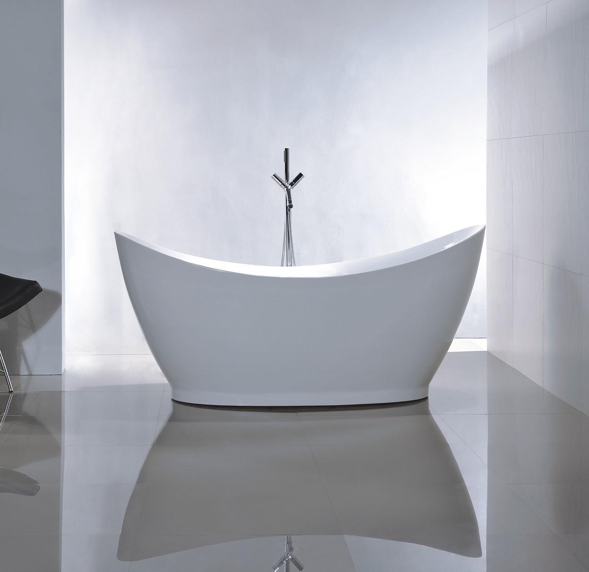 Ligbad op pootjes ontwerp inspiratie voor uw badkamer meubels thuis - Badkuip ontwerp ...