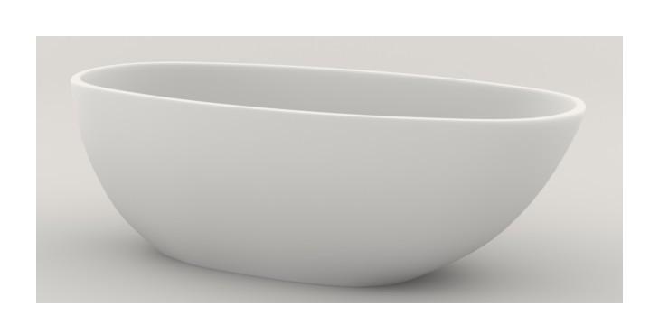 Een Vrijstaand Bad Met Een Moderne Uitstraling